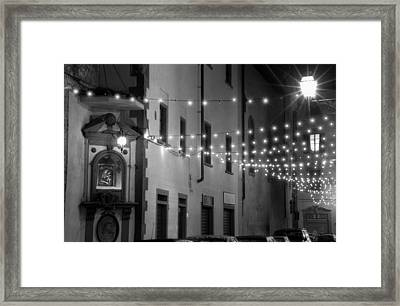 Mother Lights Framed Print by Visual Stenographer
