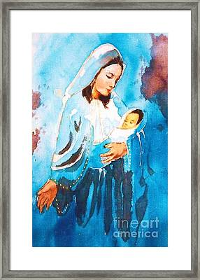 Mother Maria Framed Print