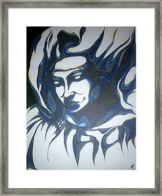 Mother Mary Concept Framed Print by Michael Toth