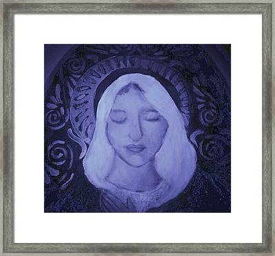Framed Print featuring the photograph Mother Mary I by Shirley Moravec