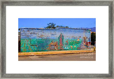 Mother Mary II Framed Print by Kip Krause