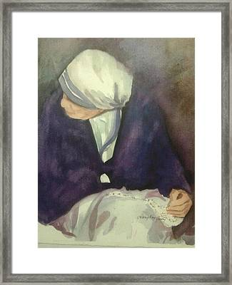 Mother Framed Print by Mary Kay Geary