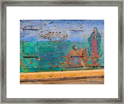 Mother Mary Framed Print by Kip Krause