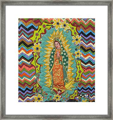 Mother Mary  Framed Print by Donna Wilson