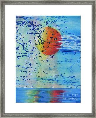 Mother Nature At Her Best  Framed Print by Chrisann Ellis