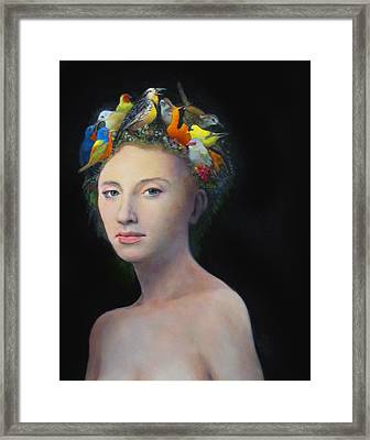 Mother Nature Framed Print by Charles Wallis
