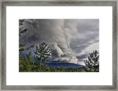 Mother Nature Showing Off V2 Framed Print