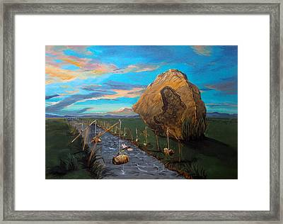 Mother Of Anguishes  Framed Print