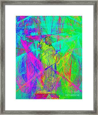 Mother Of Exiles 20130618m60 Framed Print by Wingsdomain Art and Photography