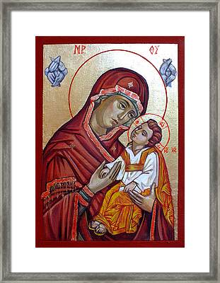 Mother Of God Framed Print by Filip Mihail