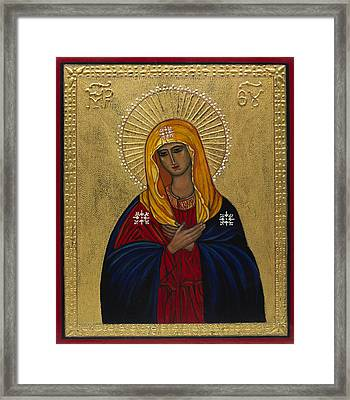 Mother Of Mercy I Framed Print by Ilse Wefers