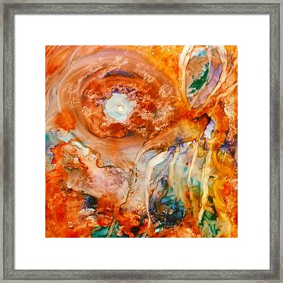 Mother Of Pearl Framed Print by  Heidi Scott