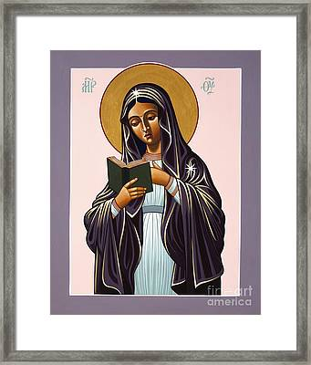 Mother Of The Incarnate Word 071 Framed Print