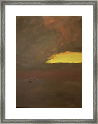 Mother Storm Framed Print by Jim Ellis