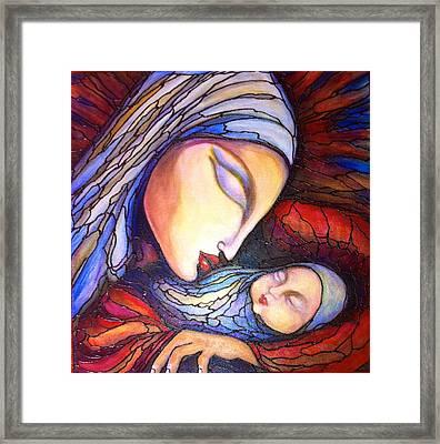 Motherhood Framed Print by Rae Chichilnitsky