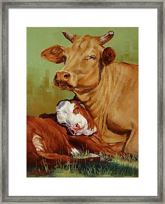 Motherly Love Framed Print
