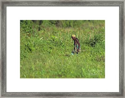 Mothers Child... Framed Print by Nina Stavlund