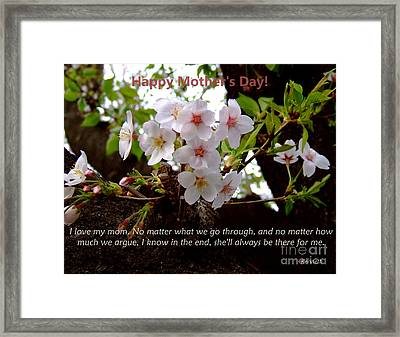 Mother's Day Framed Print by Andrea Anderegg