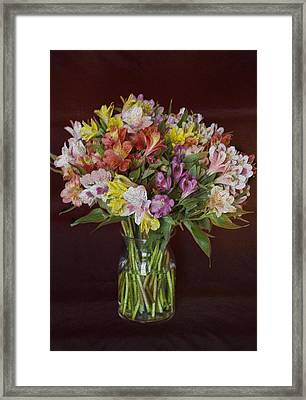 Mother's Day Bouquet Framed Print