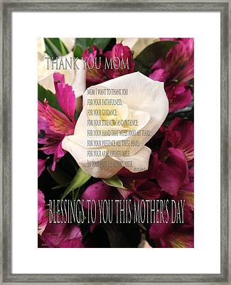 Mothers Day Cards Framed Print by Debra     Vatalaro