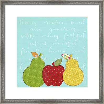 Mother's Day Kitchen Art Framed Print by Alli Rogosich
