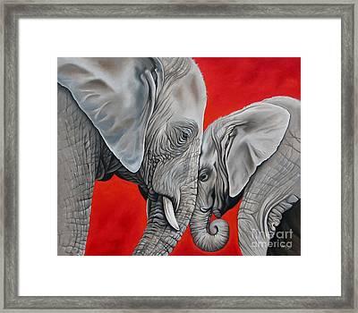 Mothers Love Framed Print by Ilse Kleyn