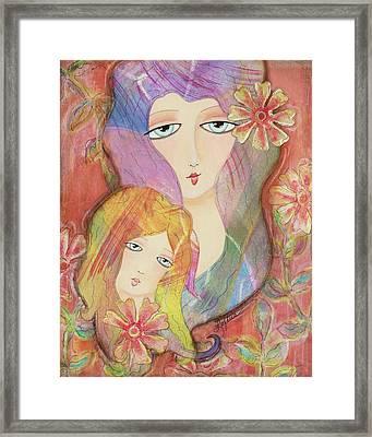 Mothers Love Framed Print by Joann Loftus