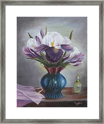 Mother's Memories Framed Print by Lou Magoncia