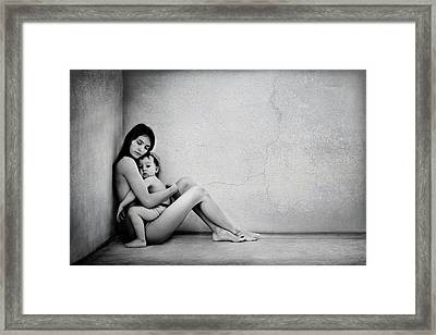 Mothers Protection Framed Print