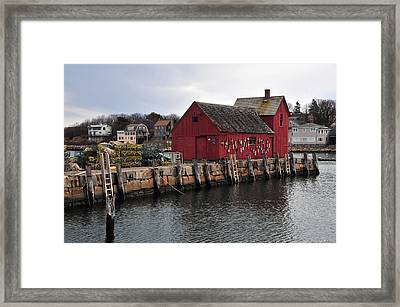 Motif # 1 Framed Print by Mike Martin