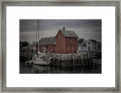 Motif 1 - Painterly Framed Print