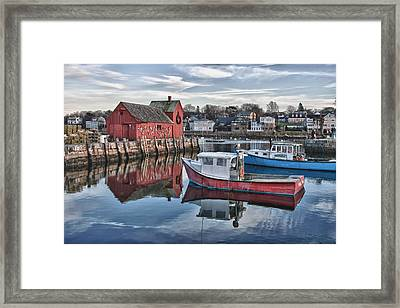 Motif 1 Sky Reflections Framed Print