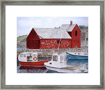 Motif No 1 Framed Print