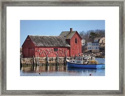Motif Number 1 Framed Print