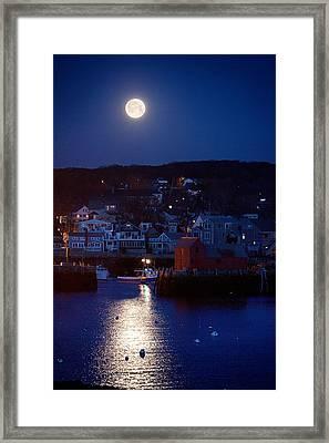 Motif Number 1 Moon Framed Print by Jeff Folger
