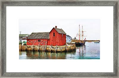 Motif Number 1 Rockport Ma Framed Print by Jack Schultz