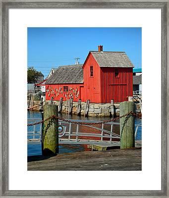 Motif Number One Rockport Lobster Shack Maritime Framed Print