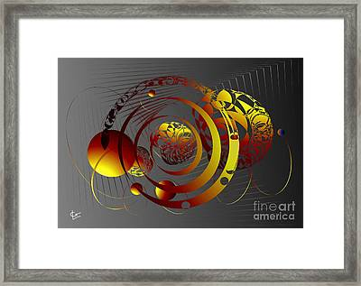 Motion Path Framed Print