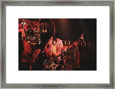 Motley Crue '83 Framed Print