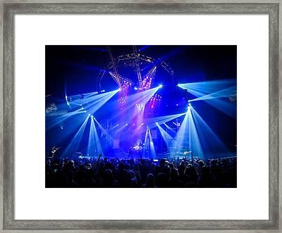 Motley Crue Stage Framed Print