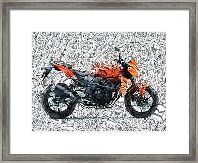 Moto Art S01-01a Framed Print
