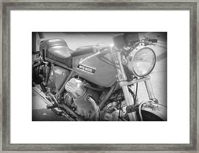 Moto Guzzi I Framed Print