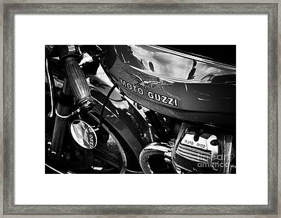 Moto Guzzi Le Mans  Framed Print by Tim Gainey