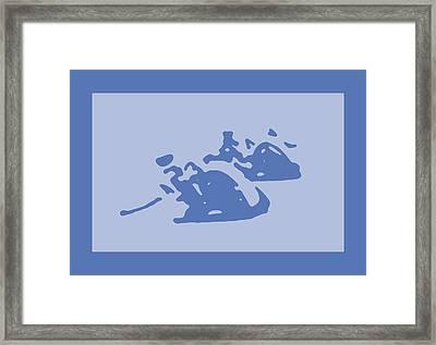 motoGP Framed Print by The Polart bear