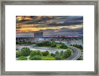 Motor City Casino Detroit Mi Framed Print by A And N Art