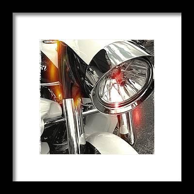 Bike Framed Prints