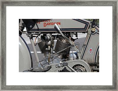 Motorcycle Vii  Framed Print