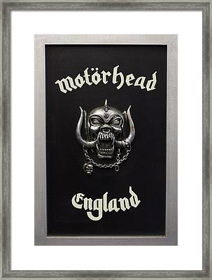 Motorhead England Framed Print by The Artist Project