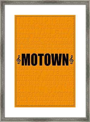 Motown Framed Print by Andrew Fare