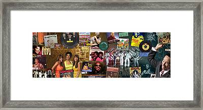 Motown Music Panoramic Framed Print by Retro Images Archive